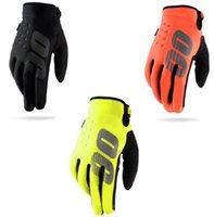 Motocross 5-Finger 장갑, 야외 승마 장비, 터치 스크린, 통기성 및 편안함
