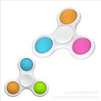 Dimple simple Fidget Toy Pequeño Popit Popit Figet Toys Alivio del estrés para los niños adultos Early Education Pop It