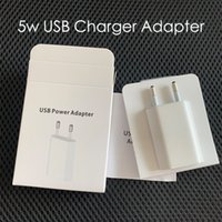 Original OEM Quality 5V 1A US EU AC USB Wall Charger Travel Adapter For XS XR 7 Plus 6 6S 5S with package