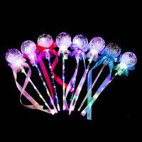 LED Işık Sopa Temizle Topu Yıldız Şekli Yanıp Sönen Glow Sihirli Değnekiydi Doğum Günü Düğün Parti Dekor Çocuklar Için Işıklı Oyuncaklar 155 B3