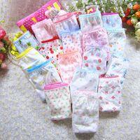 Panties 5pcs pack Fashion Baby Girls Underwear Cotton For 3-12 Years Kids Short Briefs Children Cartoon