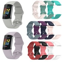 Silicone Strap for Fitbit Charge 5 Band Vervanging Horlogeband Charge5 Smartwatch Sport Zachte Armband Band Polsband