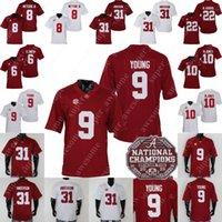 NCAA Alabama Crimson Tide Football Jersey 9 Bryce Young 31 Will Anderson JR John Metchie III Jerry Jeudy Najee Harris Jaylen Waddle Mac Jones Devonta Smith