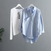 Women's Blouses & Shirts Long-sleeve Shirt Durable Easy-using Comfortable Over-sized Women Tops For Outdoor