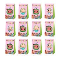 Kokomel JJ Little Boy Candy Bag Geburtstagsfeiergeschenk Packung Souvenirtasche Kuchen Candy Wrap Paper Box Festival Dekoration liefert G50F3FL