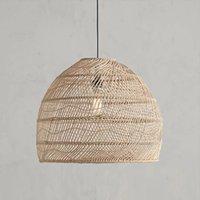 Современные кулоны Rattan подвески светильника Японский стиль тумана для гостиной столовая спальня бар декор лофт E27 подвеска светильника