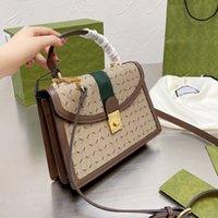 Crossbody сумка для плеча женщин сумки кошелька топ ручка сумки сумки холст кожа классическая буква напечатана съемный ремешок лоскутную сумку высокое качество
