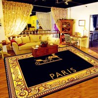 Nordic Parlor Home Rugs Creative Designer Letter Carpets Pattern Water washing Carpet European Style Mat High Quality Living Room Rug