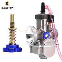 Sistema de combustível de motocicleta zsdtrp carburador de velocidade de ajuste de velocidade ocioso para o regulador universal de PWK
