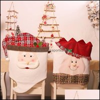 Sashes Textiles & Gardenchristmas Decorations Home Dining Table Dress-Up Items Xmas Chair Ers B Drop Delivery 2021 Isqrh