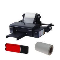 필름 롤 DTF 프린터 용 홀더의 PET 소프트웨어 잉크 리필 키트가있는 직접 Trasnfer 인쇄 기계