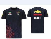 2021 F1 Formula One Team Racing Jersey Manica Corta T-Shirt Sport Round Neck Automobile Automobile Automobile Ventole da lavoro Stile estivo personalizzato