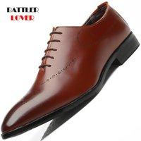 Dress Shoes 2021 Men Formal Office Social Designer Wedding Luxury Elegant Male Business Homme Footwear