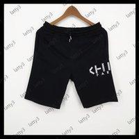 2020 Новые дизайнерские мужчины короткие летние моды роскошь короткие брюки акул головной бренд Jogger брюки открытый шорты горячий пляж короткие брюки 20042403D