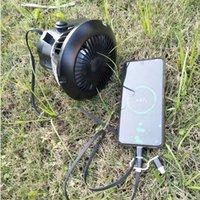 재고 있음 야외 휴대용 제등 캠핑 조명 천장 팬 Lanterna USB 충전식 텐트 빛 LED 작업 조명 토치 전원 은행 기능
