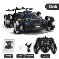Drift Spray Racing Carro Música de Alta Velocidade e Light 2.4G Controle Remoto Aniversário Crianças Presentes Brinquedo Recarregável Elétrico