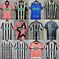 Juve jérsei retro do futebol 84 85 92 95 96 97 98 99 02 03 11 Zidane Maillot Davids camisa mais velha
