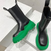 아기 야외 남성 여성 부츠 US5-US12 타이어 보테가 폭풍 높은 부팅 실제 신발 크리스탈 야외 마틴 Chaussures 드 디자이너 플랫폼 A1