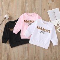 Hoodies & Sweatshirts Toddler Kids Baby Girls Boys Mama's Pullover Sweatshirt Tops Spring Autumn Long Sleeve Outfits