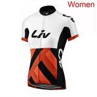 LIV equipo ciclismo manga corta jersey verano de manga corta de manga corta, secado rápido transpirable, a prueba de viento, ropa de bicicleta de montaña 72911
