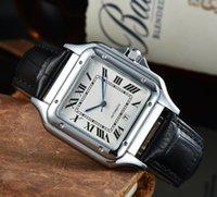 Klassische Fusionserie High End Uhren Mens Automatische Quarzbatterie wasserdichte Ledersport Trend Persönlichkeit Business Menes Uhren