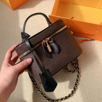 الأزياء المرأة أكياس التجميل مصمم الرجعية نمط الطباعة حقيبة يد مزاجه ارتصاف الحرير وشاح جودة عالية قطري حقيبة الكتف WF2104081