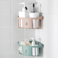 Bath Accessory Set Environmental Protection Materials Corner Storage Rack Shelf Sponge Brush Holder Bathroom Toiletries