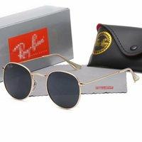 جودة عالية راي الرجال النساء النظارات الشمسية خمر الطيار aviator wayfarer العلامة التجارية الشمس النظارات الفرقة uv400 حظر بن مع صندوق وحالة 447