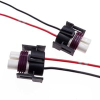 2 Stks Auto Koplamp Bulb Socket Draad Connector Mistlamp Kabel Plug H8 H9 H11 Keramische Vrouwelijke Socket Bedrading Harness Adapter