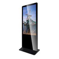 32 43 49 55 65 inch Advertising Display Floor Standing UHD Digital Signage Kiosk