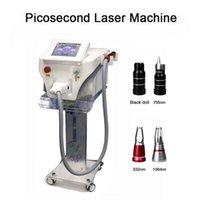 Tüm Cilt Tipi Dövme Temizleme Için Picosecond Q Anahtarı Pico Lazer 1064nm 532nm 755nm Dövme Pigment Çil Hatırlatma Makinesi