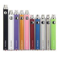 Evod Twist Vape Pen Batterie 650mAh 900mAh 1100mAh Bottom Spinner Dampf Batterien