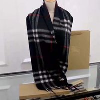 Luxury Square Scarf Oversize Classic Check Shawls Scarves For Men and Women Designer Kerchiefs Gold silver thread plaid g Shawl Multicolor