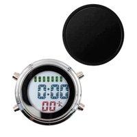 Desk & Table Clocks Mini Waterproof Clock Electronic Alarm Calendar Display Timer Luminous Function Multi-functional Stylish Simple