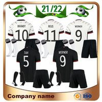 21/22 Germany Kids Kit Fussball Jersey 2021 Boy Hummels Kroos Gnabry Werner Draxler REUS Müller Gotse Football Hemden Kinder Set + Socken Uniformen