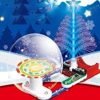 Choinka DIY Zabawki Dla Dzieci Elektronika Bloki Edukacyjne Snap Circuit Kit Discovery Science