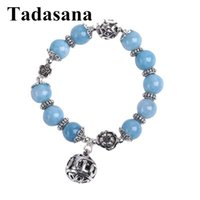 Charm Bracelets Natural Stone Bracelet For Women Accessories Healing Crystal Jewelry Round Beads 10mm