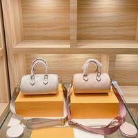 Ultimi stili Designer Bussurys Crossbody Bags 2pcs Classic Gradient Pillow Pises 2021 Estate Pink Shoulder Borse Bowbag in pelle Bovina in pelle Maniglia Borsa all'ingrosso