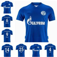 21 22 FC Schalke 04 Soccer Jerseys Serdar 2021 2022 Raman Camicia da calcio ARRIT DE PIEDE