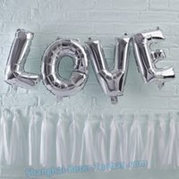 편지 40 인치 룸 디자인 결혼식 풍선 사랑 기념일 장식 크리 에이 티브 패키지 HH119