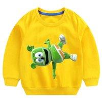 Cartoon Bär Kinder Hoodies Sweatshirt Ich liebe dich T-shirt Mode Persönlichkeit Casual T-Shirt Kinder Jungen Mädchen Tshirt Sweatshirt G0917