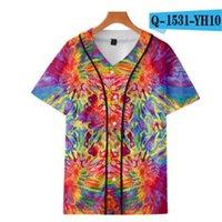 남자 인쇄 짧은 소매 스포츠 티셔츠 패션 여름 스타일 남성 야외 셔츠 탑 티셔츠 001