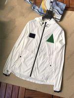 Lose All-Match-Jacken mit besticktem Handtuch auf der Brust 20ss Monclair Herrenjacke Hohe Qualitätsmantel Casual Street Coats Größe M - XXL