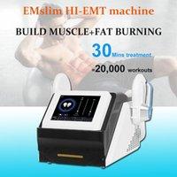 Latest EMslim HI-EMT body shaping machine electromagnetic muscle stimulation fat burning hiemt ems musclesculpt beauty equipment
