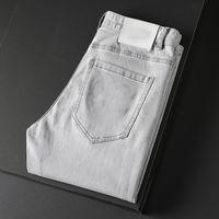 Mens Jeans Classic Classic Hip-Hop штаны стилист стилист, разорванный Rider Slim Fit Mothercycle джинсовые джинсы - DW831