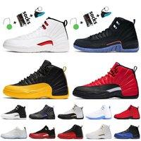 Con caja 2021 Nike air jordan 12 12s jordan retro Zapatillas de baloncesto para hombre Twist Dark Concord University Gold Arctic Punch Pink Zapatillas de deporte para mujer