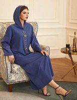 Etnik Giyim Eid Kaftan Marocain Dubai Abaya Kimono Müslüman Türkiye Elbiseler Abayas Kadınlar Için İslam Kaftan Robe Femme de Moda Musulmana