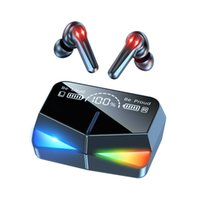 M28 Wireless Bluetooth Earphones Mobile Phone Gaming Earphone for iPhone Samsung In-Ear Blue Tooth Headphones Power Display LED Light