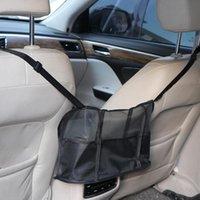 Car Organizer Handbag Holder Auto Seat Back Middle Storage Bag Box Universal Mesh Hanging Pocket Net Travel Accessories