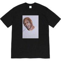 [Streetwear de alta qualidade] SUPRE 07SS Mike Tyson Tee Photo T-shirt de mangas curtas
